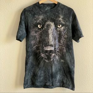 The Mountain Black Wolf tee